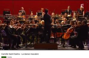Saint-Saëns la danse macabre