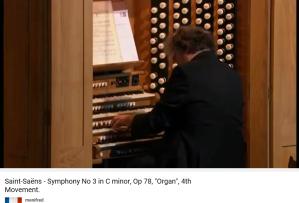 Saint-Saëns symphonie avec orgue