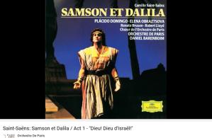 Saint-Saens Samson et Dalila dieu d'Israel