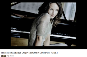 Chopin nocture Op 72 no 1