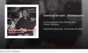 Queneau Exercices de style