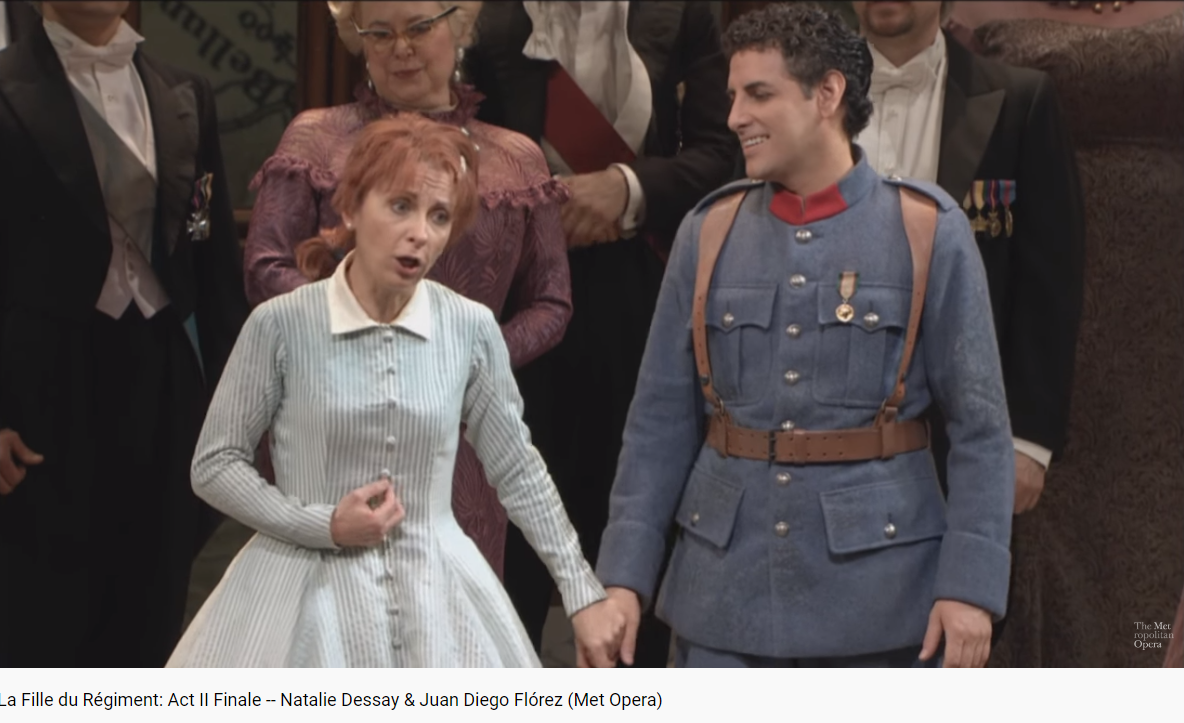 Donizetti la fille du régiment MET