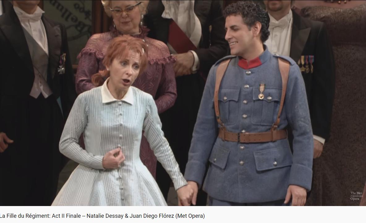 Donizetti la fille du régiment MET