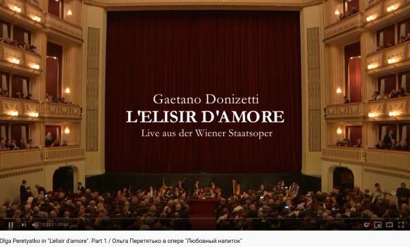 Donizetti L'Élixir d'amour WSO