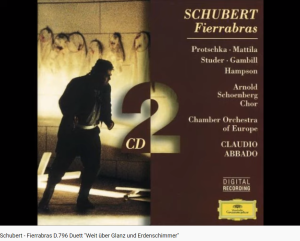 Schubert Fierrabras duo
