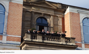 Wagner fanfare bayreuth