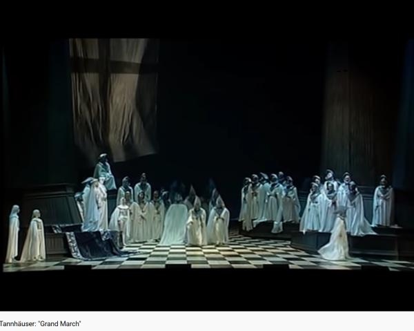 Wagner Tannhaüser marche 2e acte