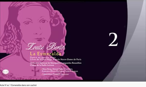 Bertin Esmeralda Esmeralda dans son cachot