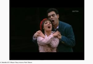 Massenet Manon Nous vivrons à Paris