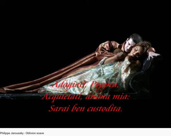 Monteverdi Couronnement de Poppée Oblivion soave