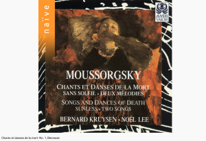 Moussorgski chants et danses de la mort - Berceuse