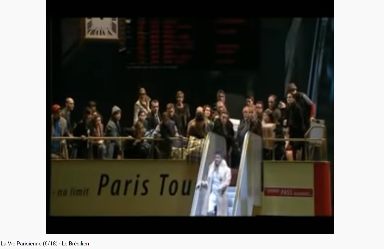 Offenbach la vie parisienne le Brésilien
