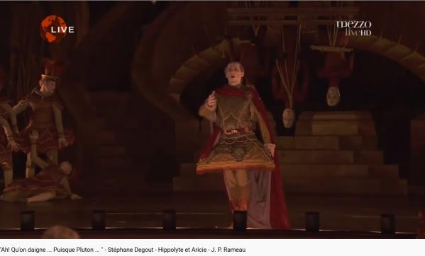 Rameau Hippolyte et Aricie Puisque Pluton est inflexible