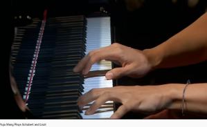 Schubert Liszt Yuja Wang
