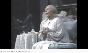 Tchaïkovski La Dame de pique air de la comtesse