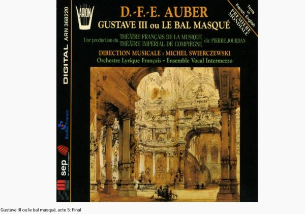 Auber Gustave III final