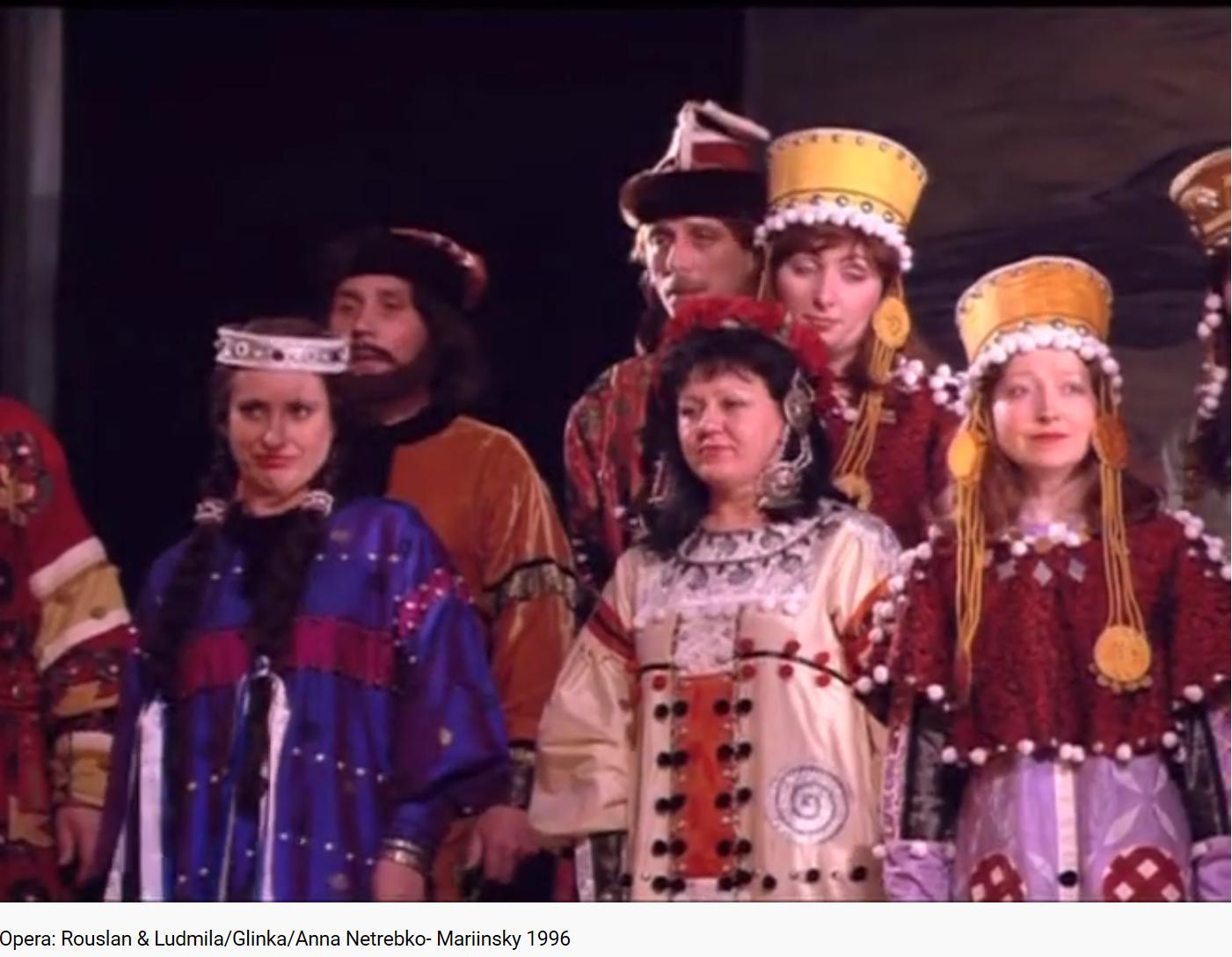 Glinka Rouslan et Ludmila Chœur final