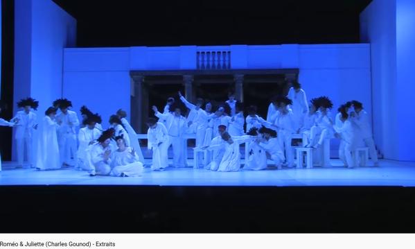 Gounod Roméo et Juliette extraits (masques)