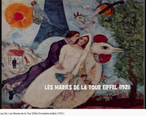 Groupe des six les Mariés de la Tour Eiffel