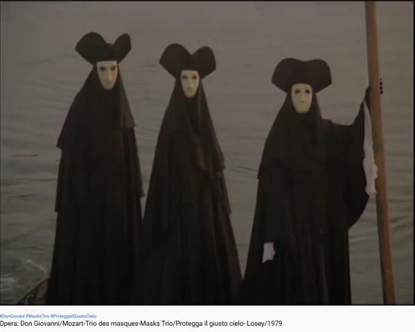 Mozart don Giovanni trio des masques