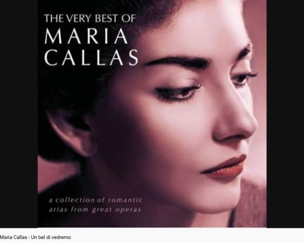 Puccini Butterfly Un bel di vedremo Callas