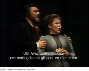 Puccini la Bohème O soave fanciulla