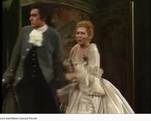 Puccini Manon Lescaut (MET)