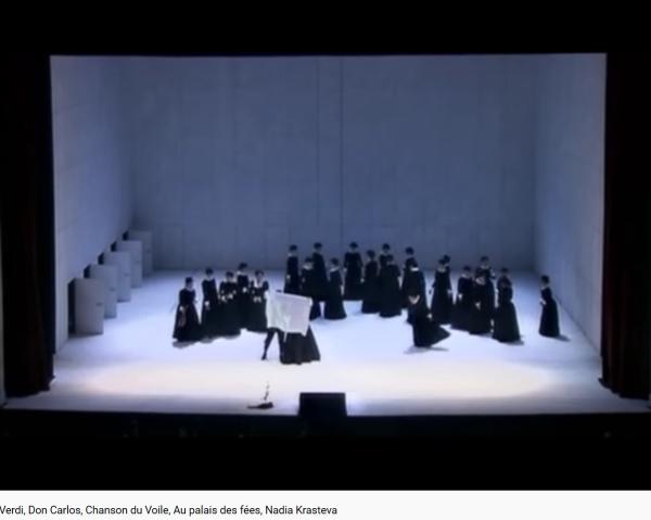 Verdi don Carlos Chanson du voile
