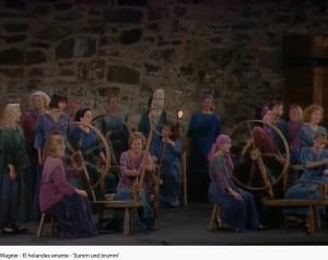 Wagner le Vaisseau fantôme choeur des fileuses