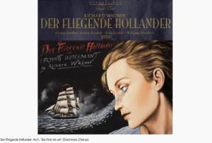 Wagner le Vaisseau fantôme Die Frist ist um