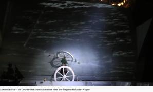 Wagner le Vaisseau fantôme Mit Gewitter und Sturm