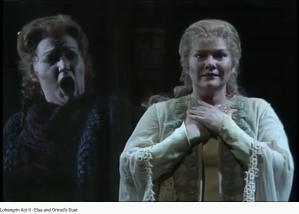 Wagner Lohengrin duo Elsa Ortrud Acte II
