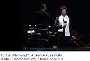 Berlioz Wainwright Nuits d'été absence