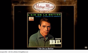 Brel Rossini Air de la bétise