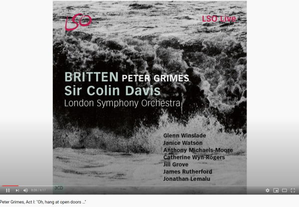 Britten Peter Grimes Oh, hang at open doors