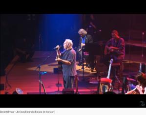 Gilmour Bizet Je crois entendre encore