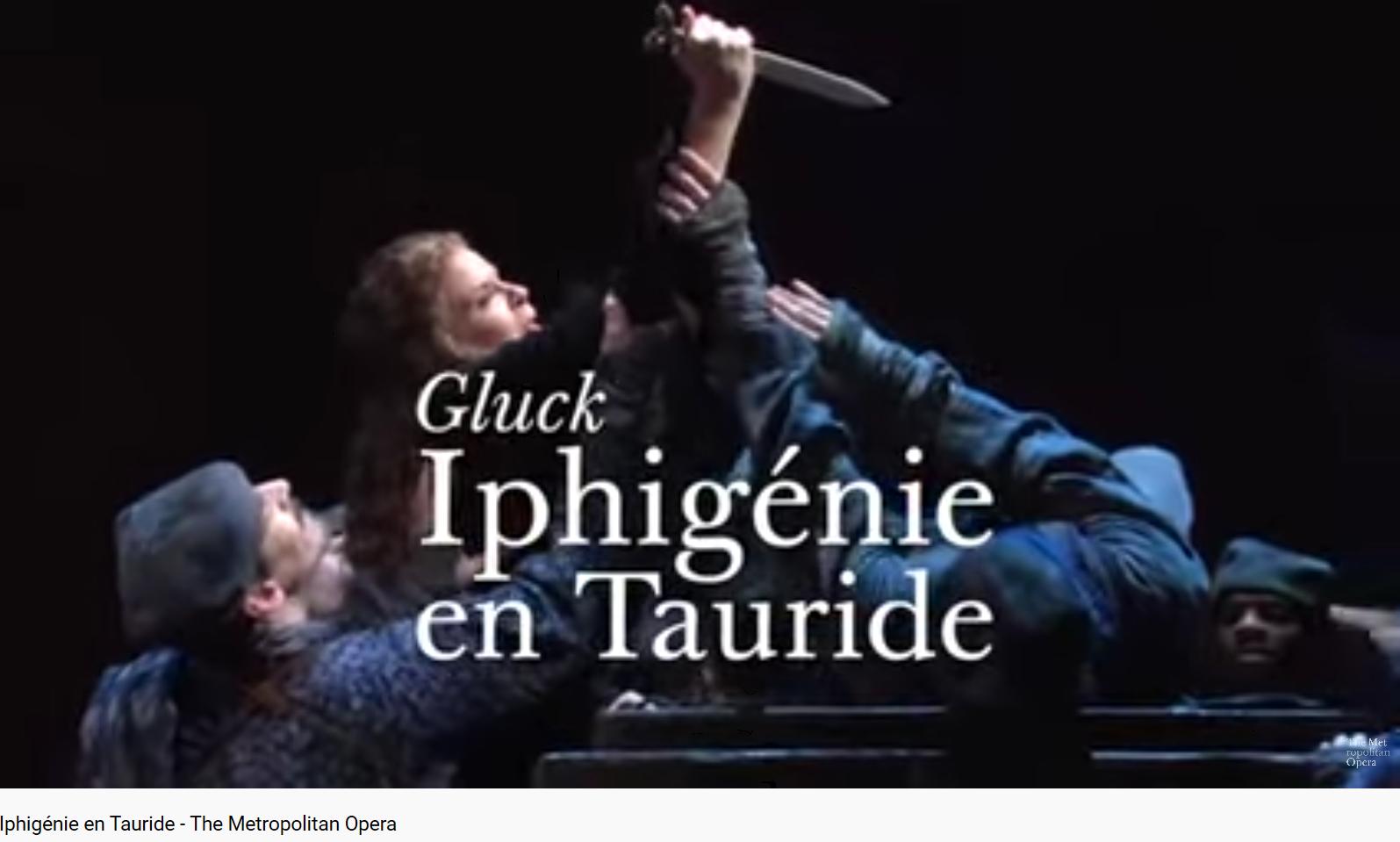 Gluck Iphigénie en Tauride (MET)