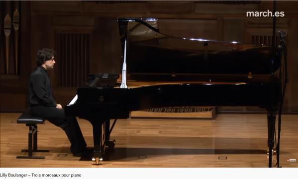 Lili Boulanger piano