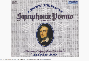 Liszt du Berceau jusqu'à la tombe