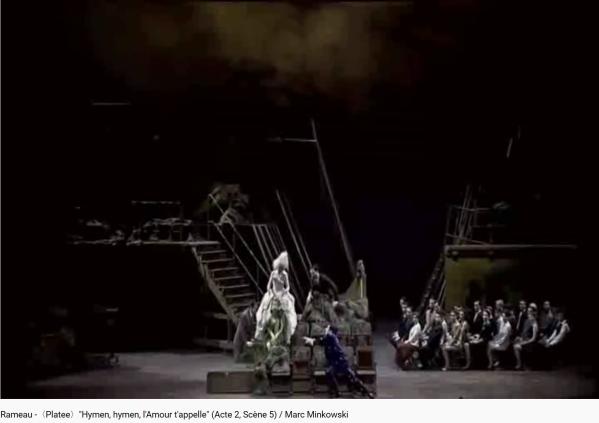 Rameau Platée Acte III scène 5 Hymen l'amour t'appelle
