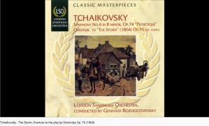 Tchaïkovski l'Orage