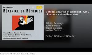 Berlioz Béatrice et Bénédict l'amour est un flambeau