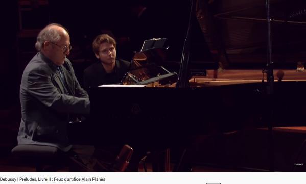 Debussy Feux d'artifice