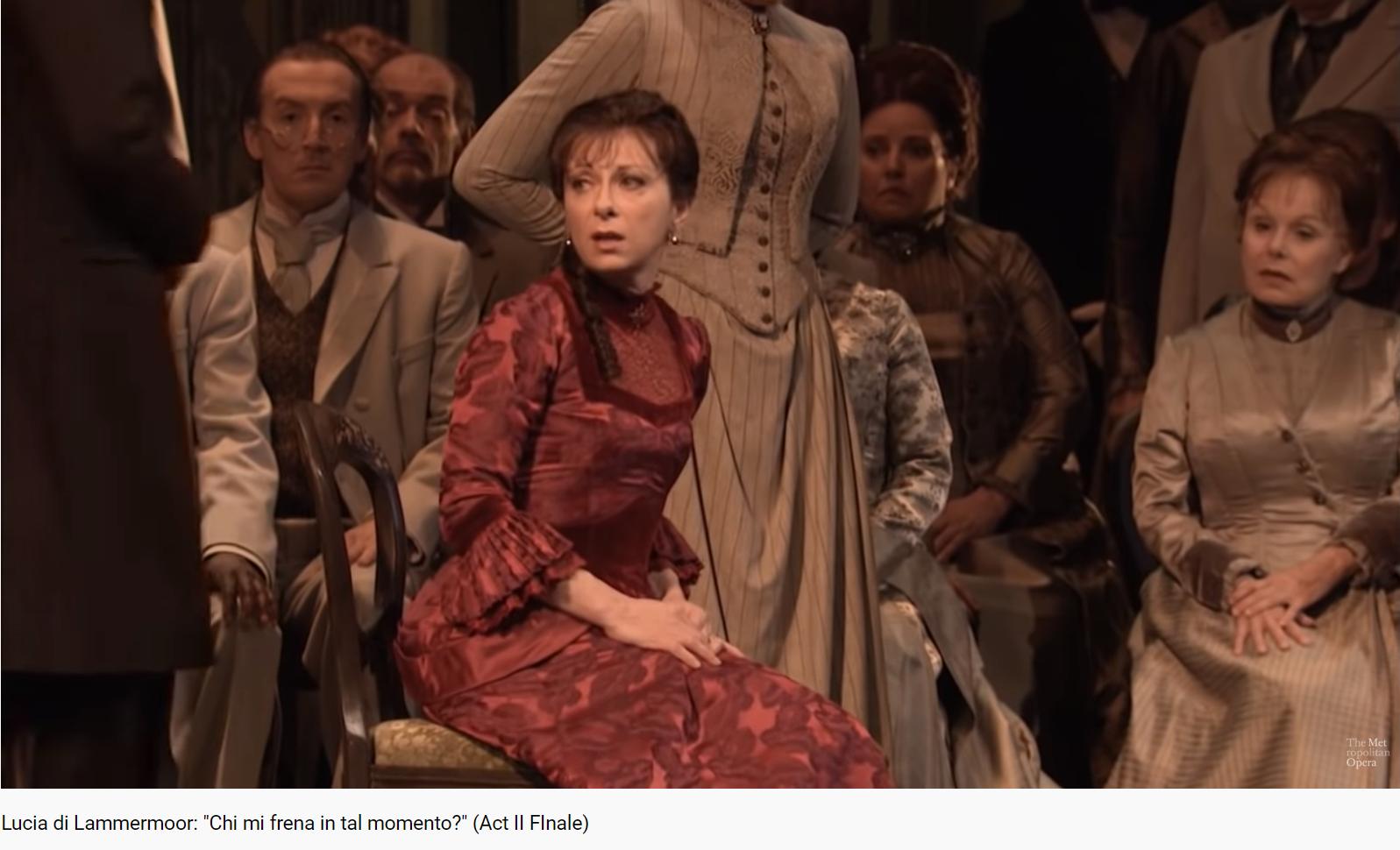 Donizetti Lucia di Lammermoor final acte II (MET)