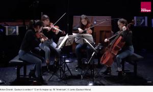 Dvorak Quatuor américain lento