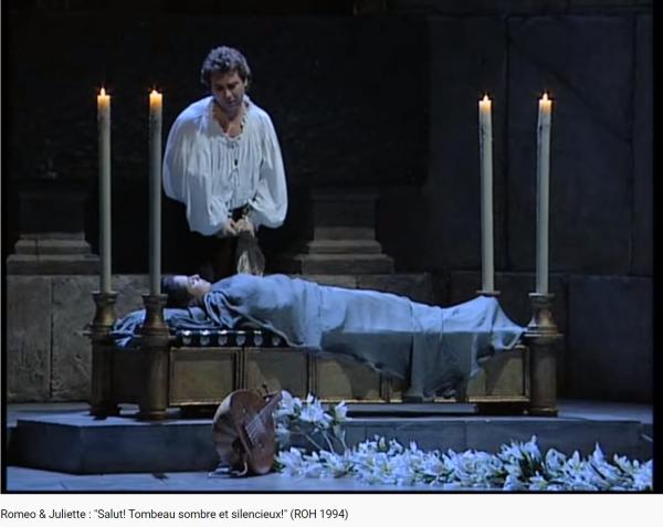 Gounod Roméo et Juliette Salut ! Tombeau sombre et silencieux