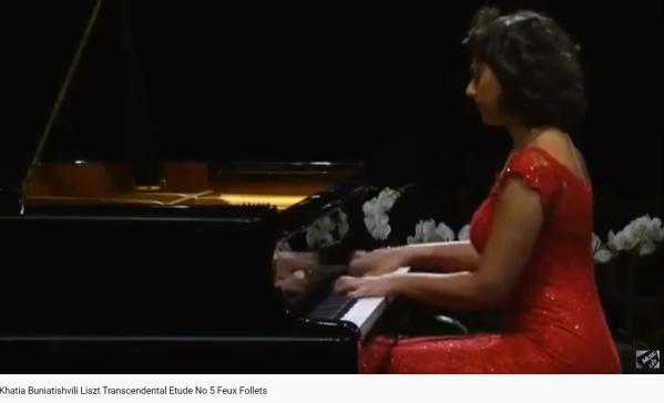 Liszt Feux follets