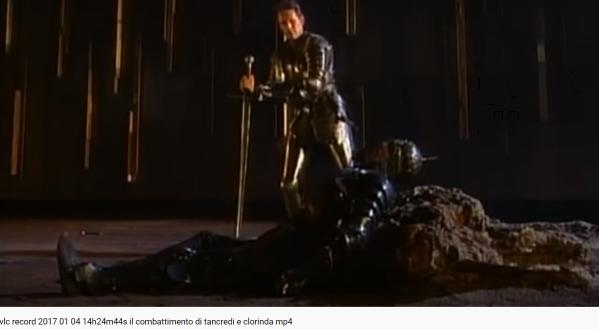 Monteverdi Le combat de Tancrède et Clorinde