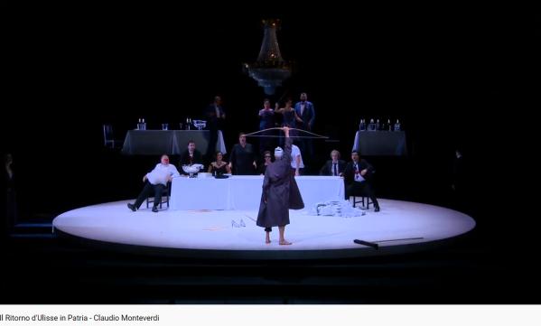 Monteverdi le retour d'Ulysse dans sa patrie