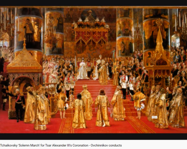 Tchaïkovski Marche solenelle du couronnement